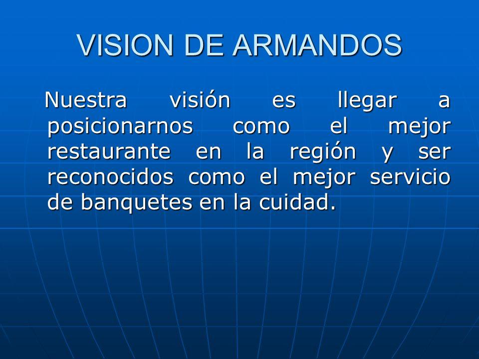 VISION DE ARMANDOS
