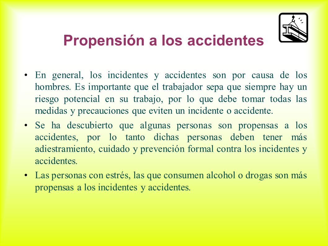 Propensión a los accidentes
