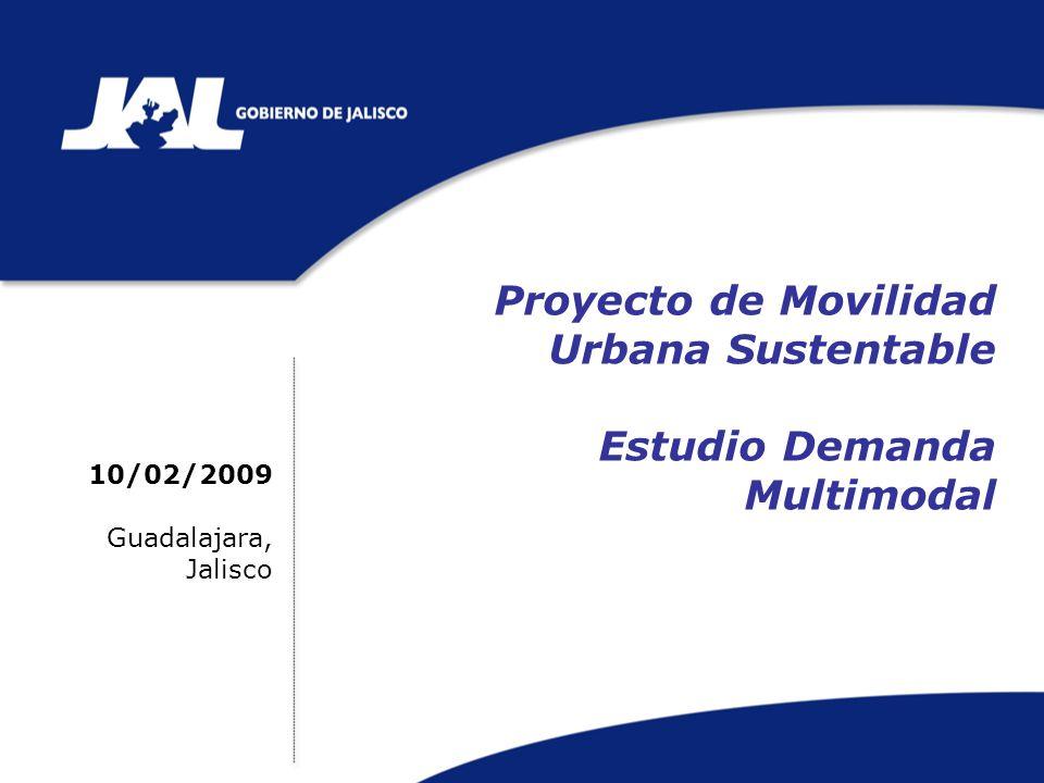 Proyecto de Movilidad Urbana Sustentable Estudio Demanda Multimodal