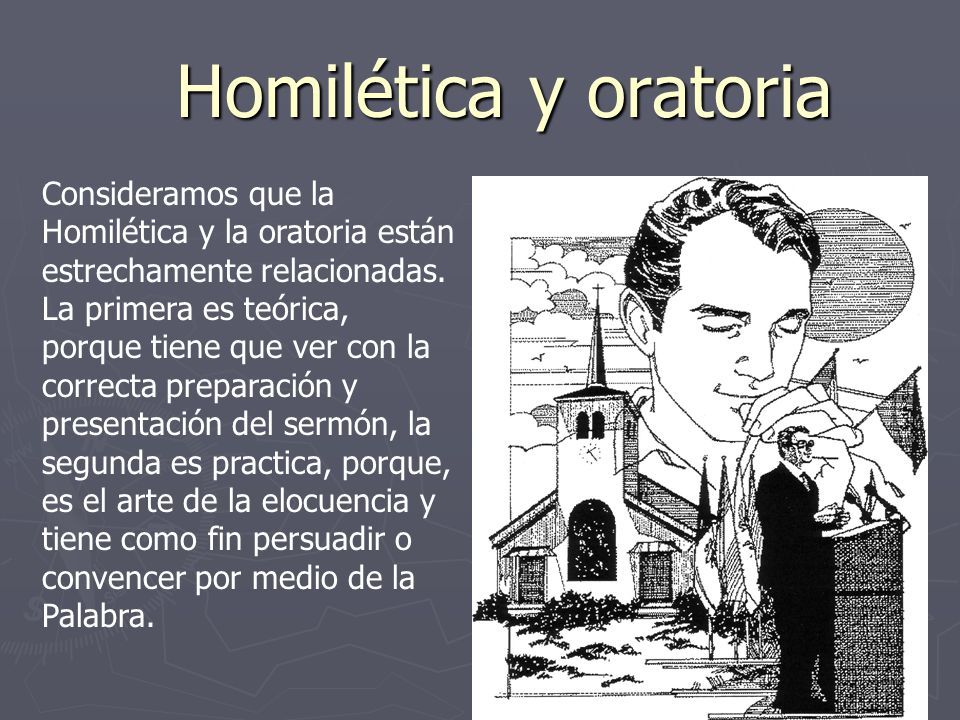 Homilética y oratoria