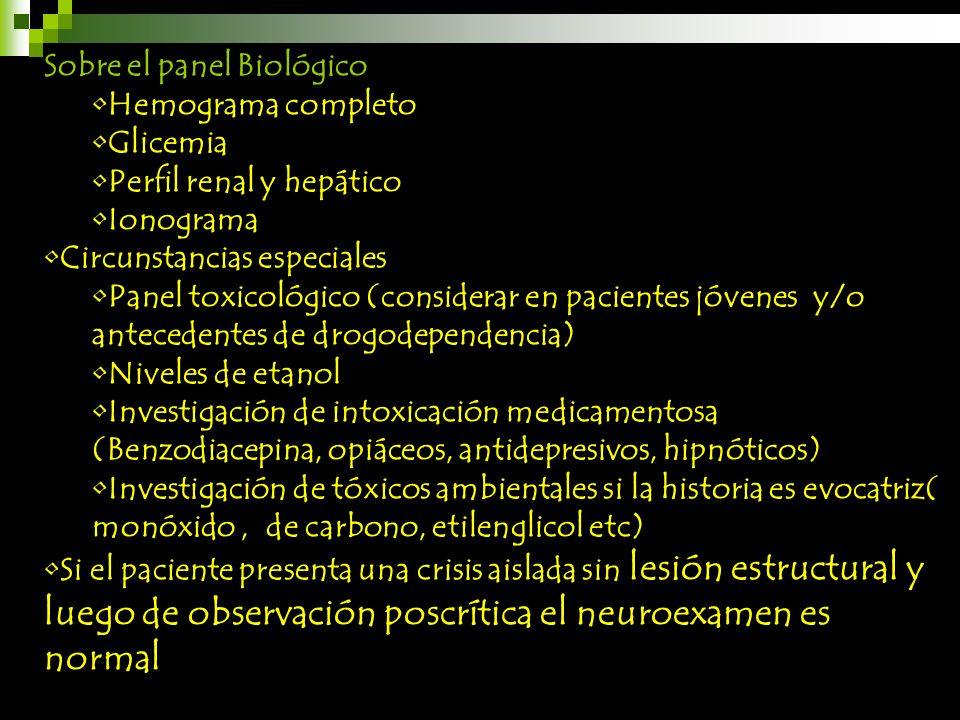 Sobre el panel Biológico