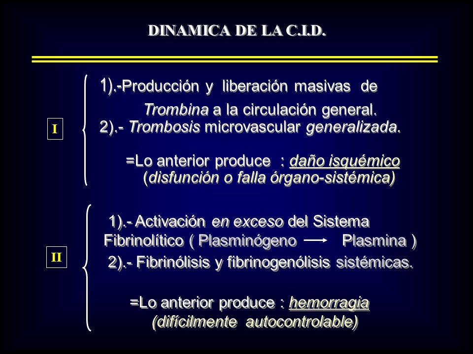 1).-Producción y liberación masivas de