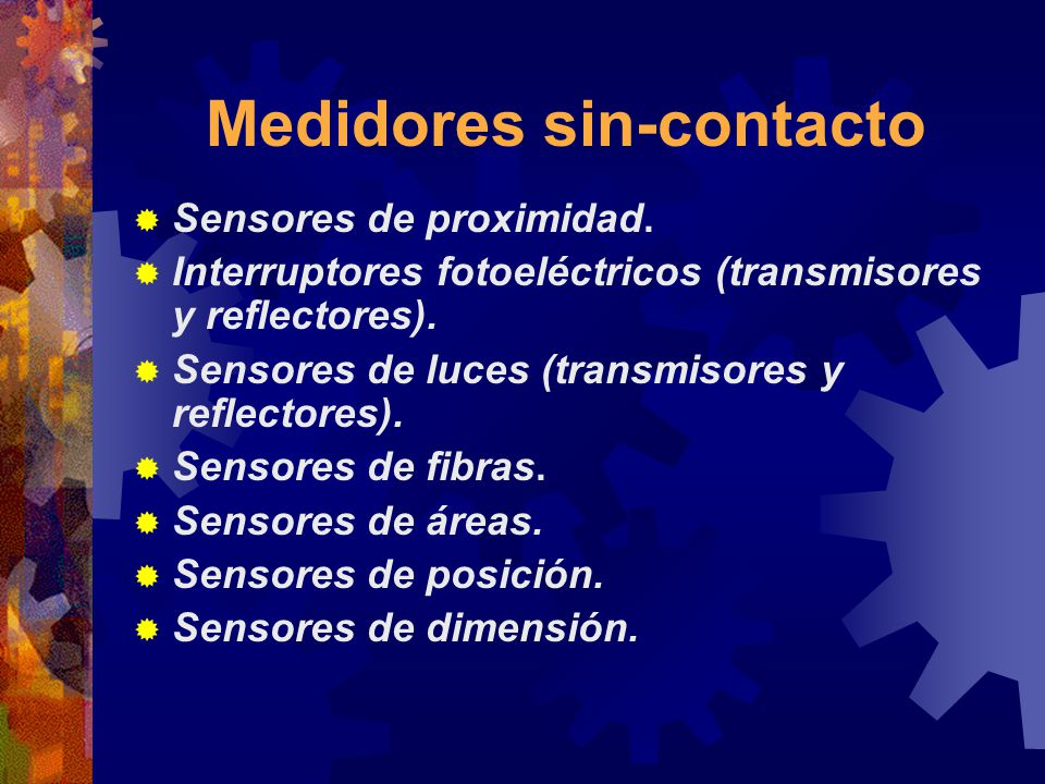 Medidores sin-contacto