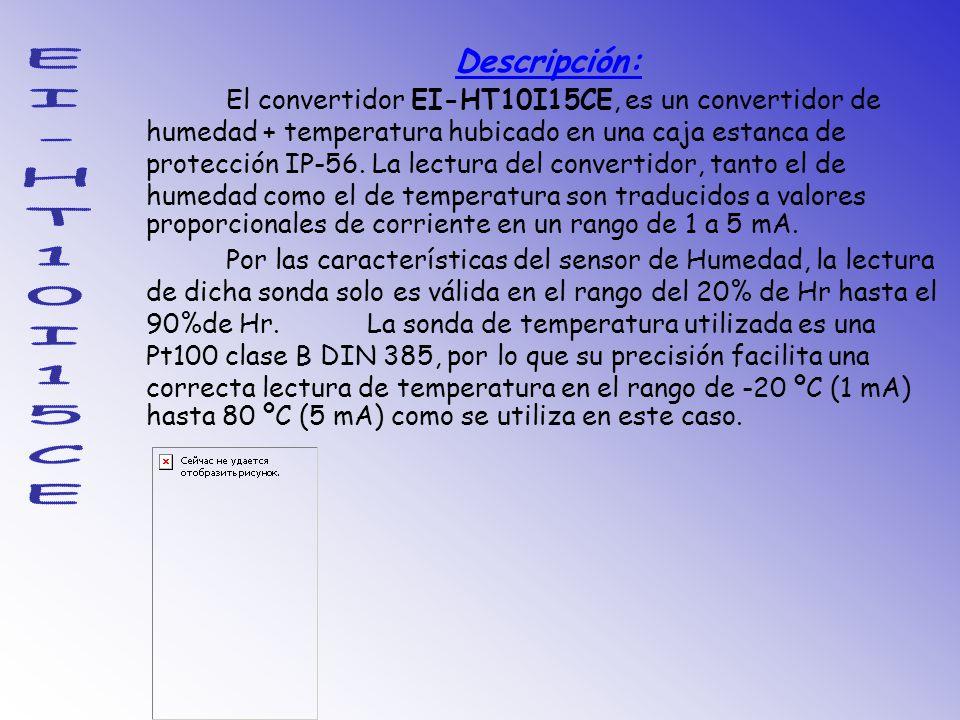 EI-HT10I15CE Descripción: