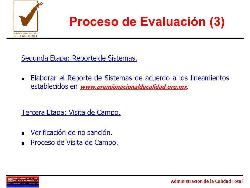 Proceso de Evaluación (3)