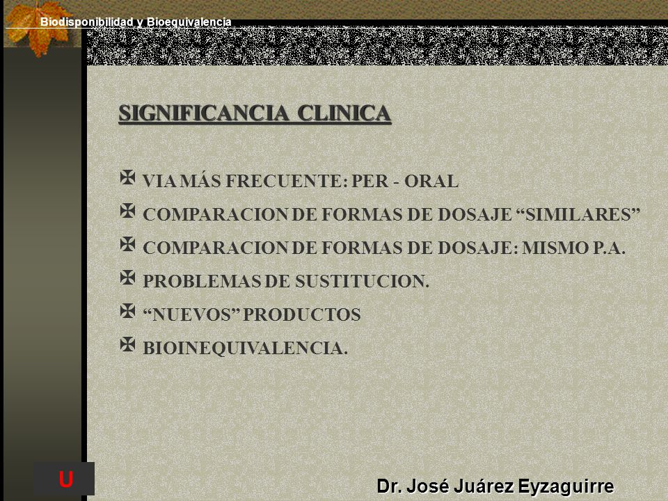 SIGNIFICANCIA CLINICA