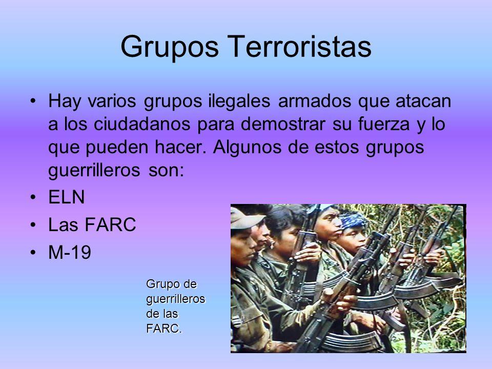 Grupos Terroristas