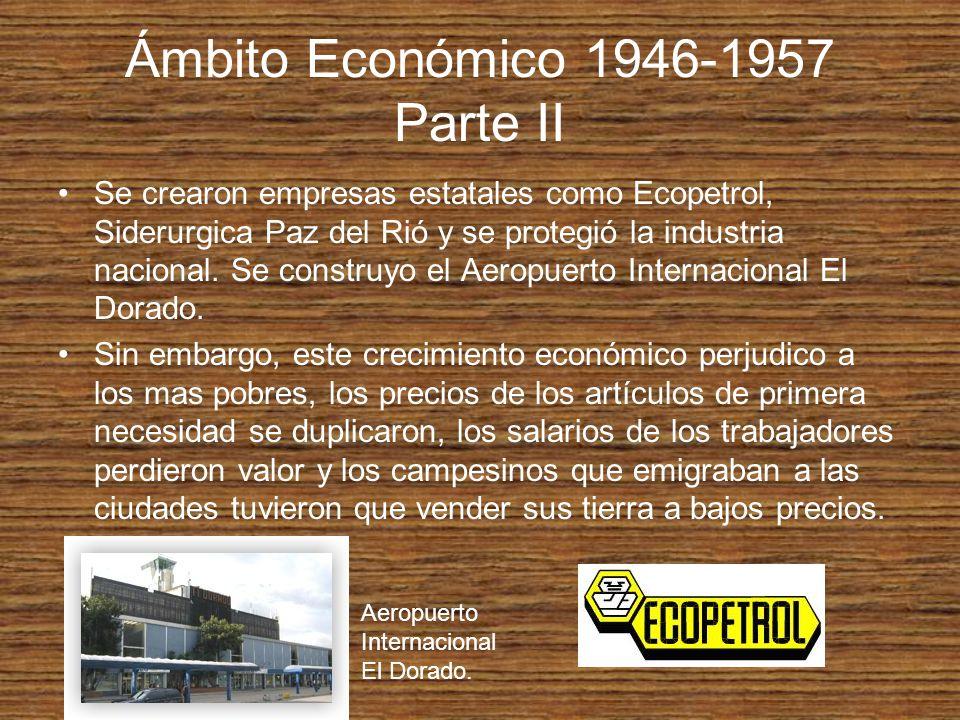Ámbito Económico 1946-1957 Parte II
