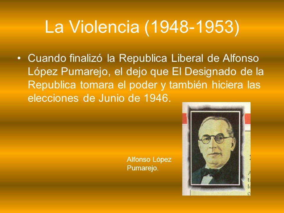 La Violencia (1948-1953)