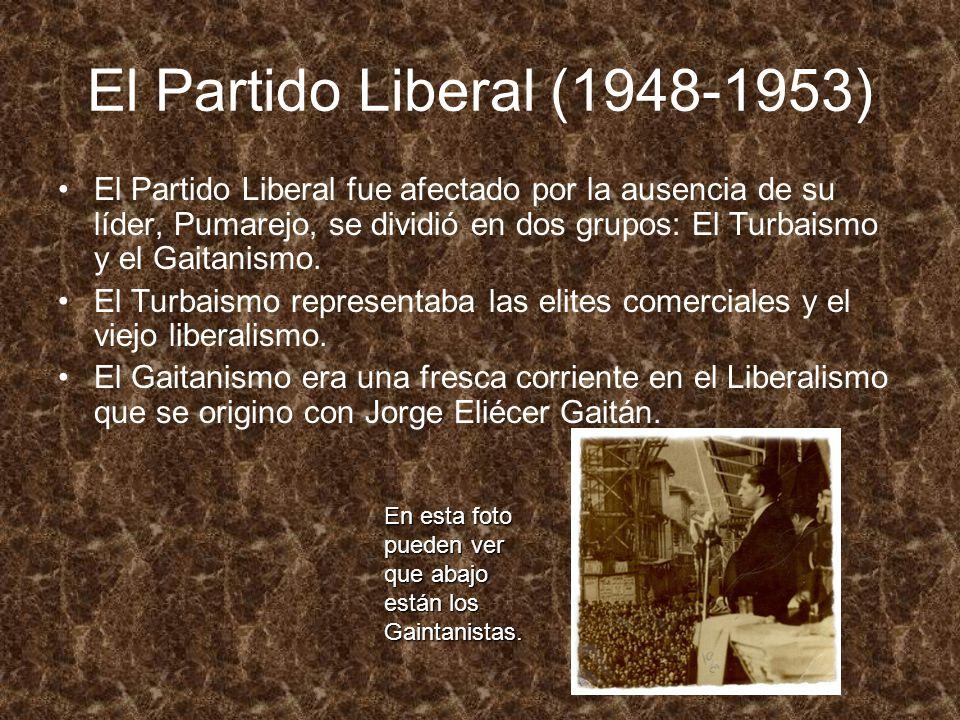 El Partido Liberal (1948-1953)