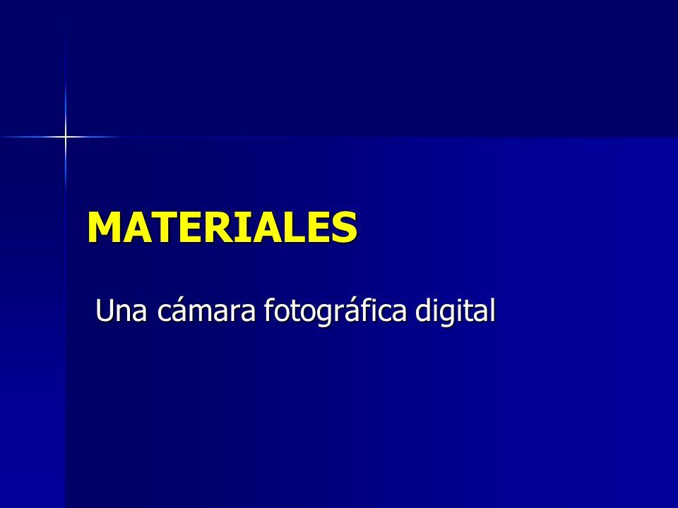 Una cámara fotográfica digital