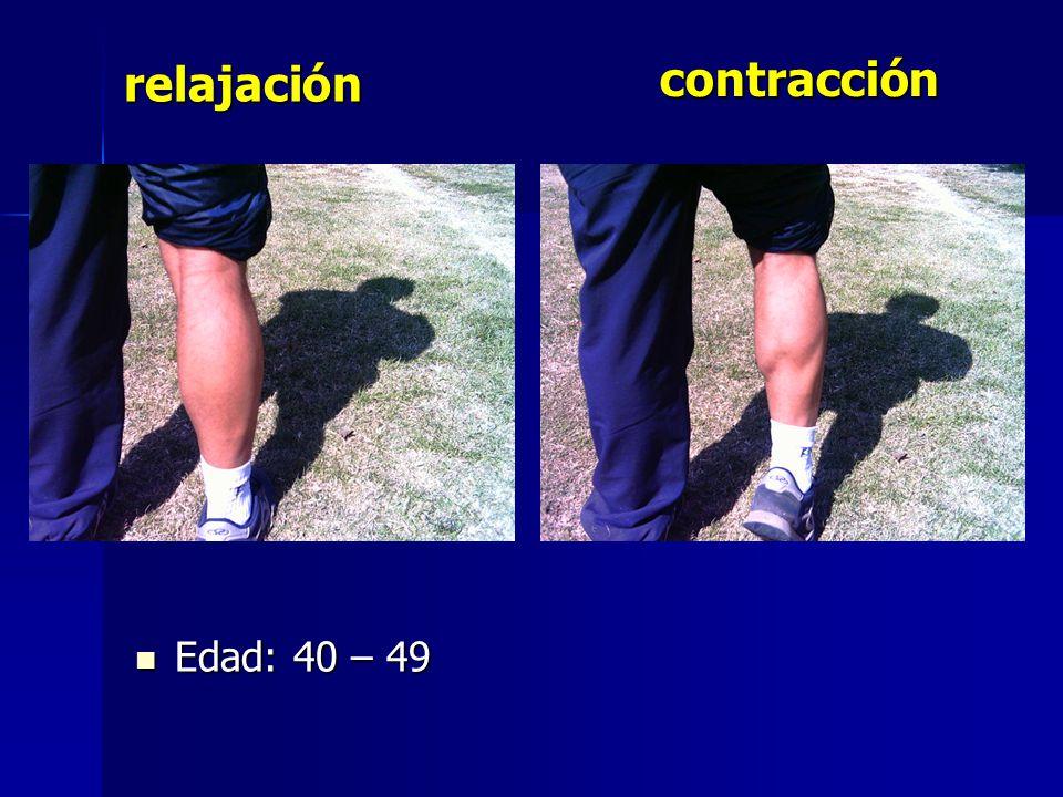 contracción relajación Edad: 40 – 49