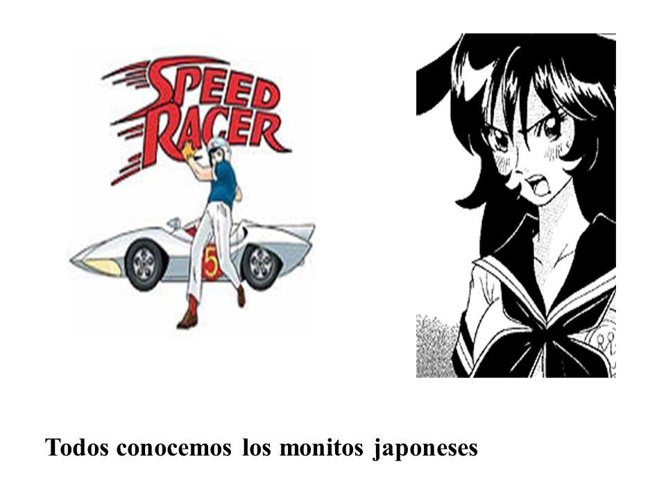 Todos conocemos los monitos japoneses