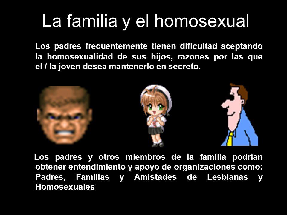 La familia y el homosexual