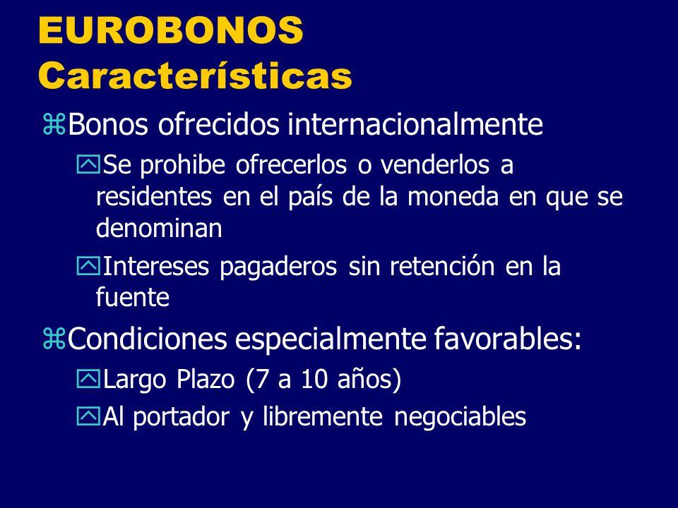 EUROBONOS Características