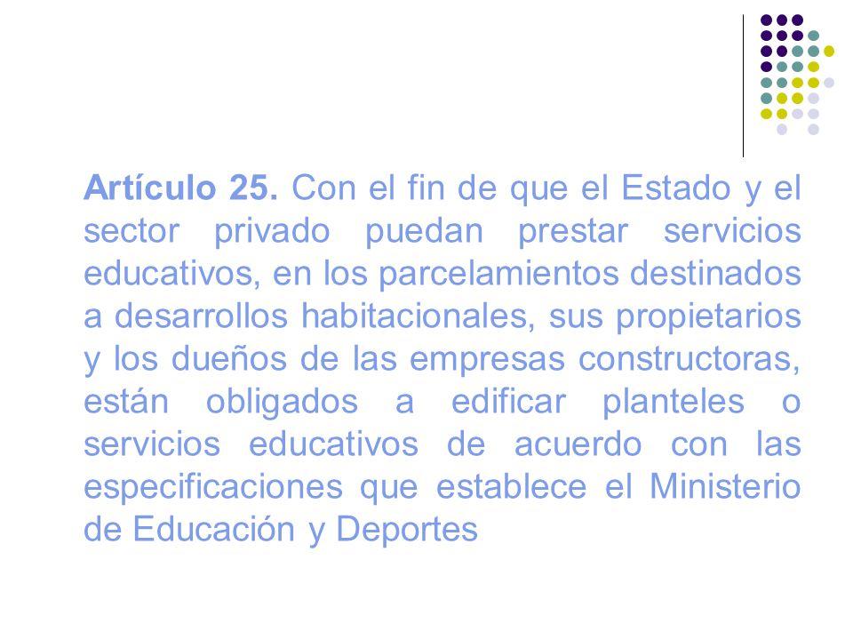 Artículo 25.