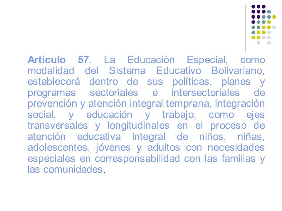 Artículo 57.