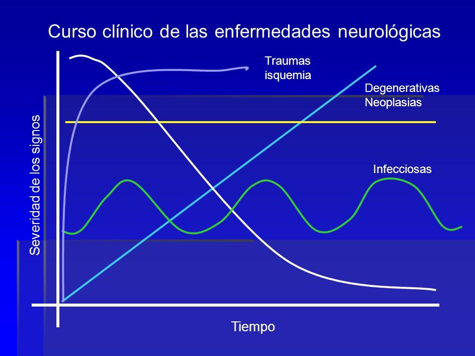 Curso clínico de las enfermedades neurológicas
