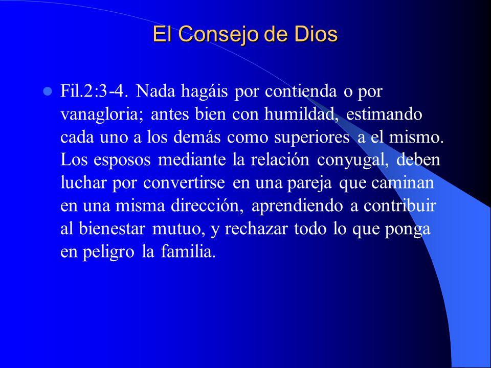 El Consejo de Dios