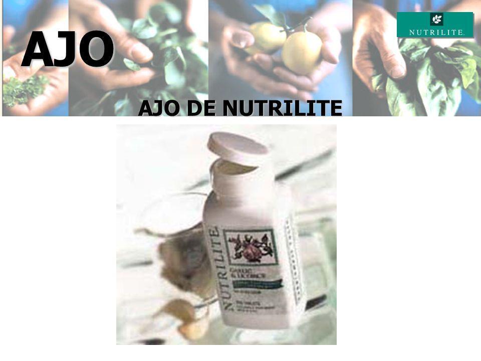 AJO AJO DE NUTRILITE