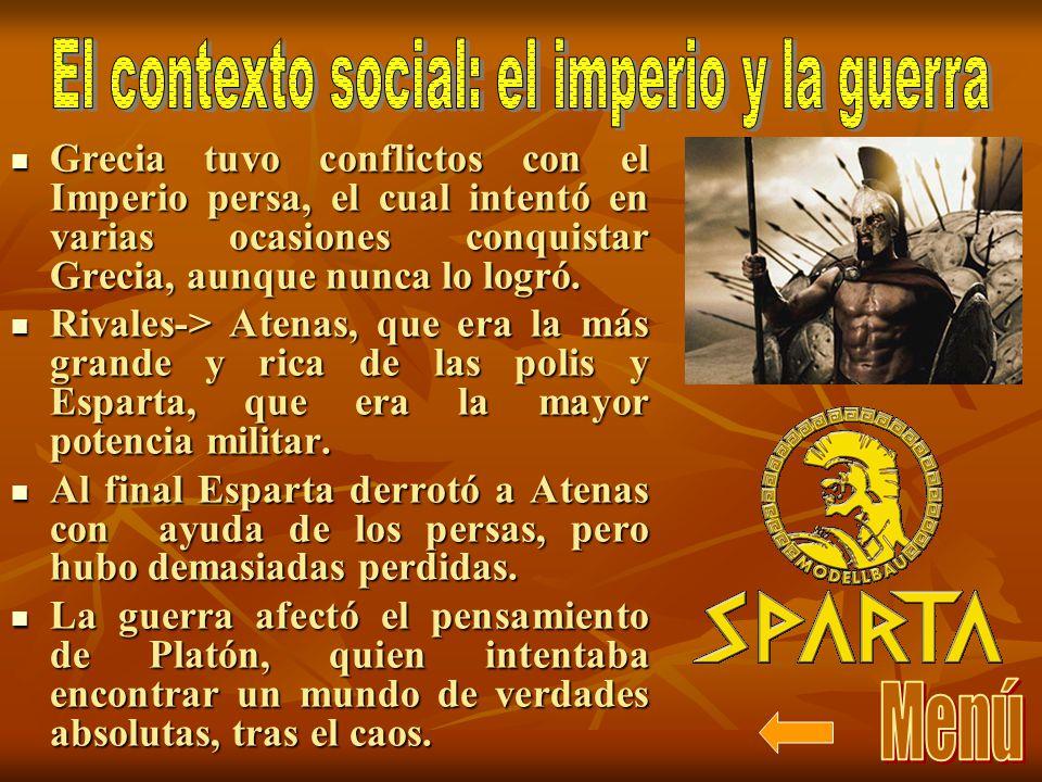El contexto social: el imperio y la guerra
