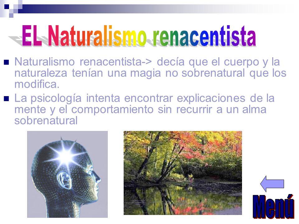 EL Naturalismo renacentista