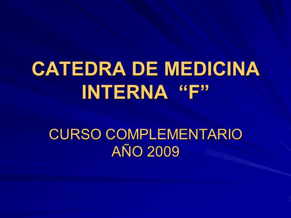 CATEDRA DE MEDICINA INTERNA F
