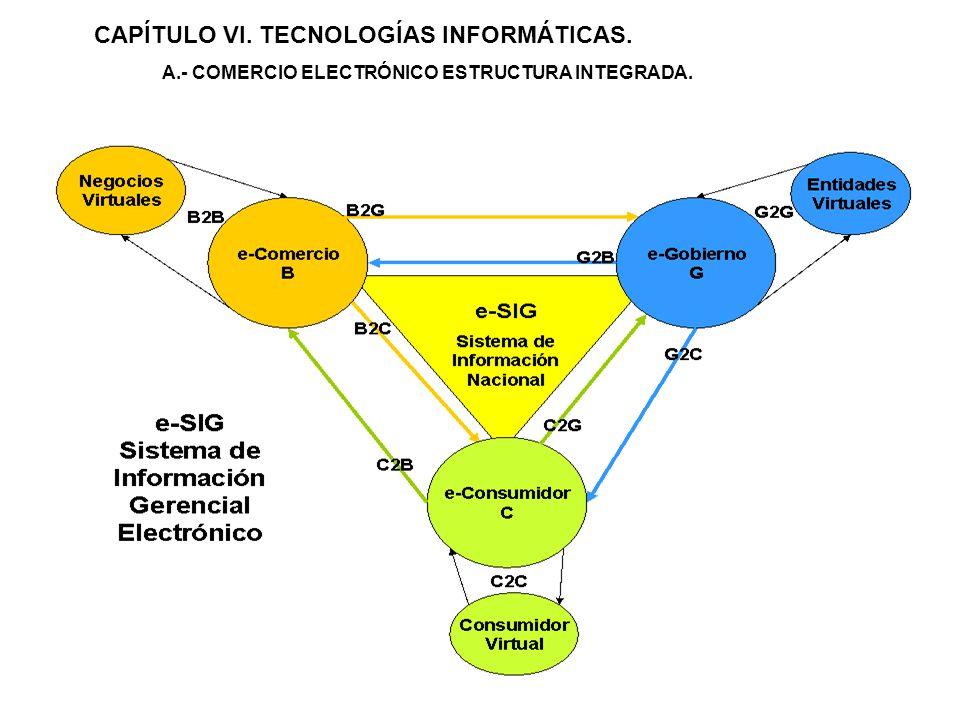 CAPÍTULO VI. TECNOLOGÍAS INFORMÁTICAS.