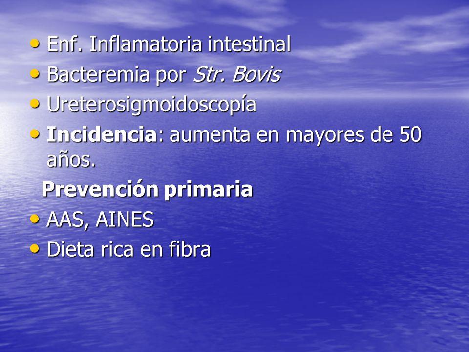 Enf. Inflamatoria intestinal
