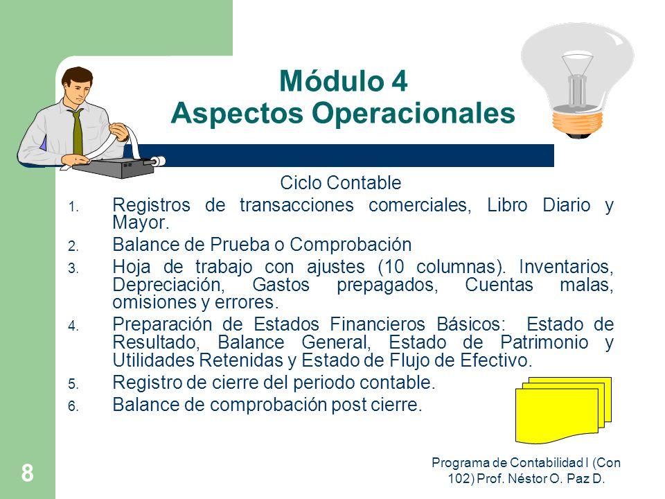 Módulo 4 Aspectos Operacionales