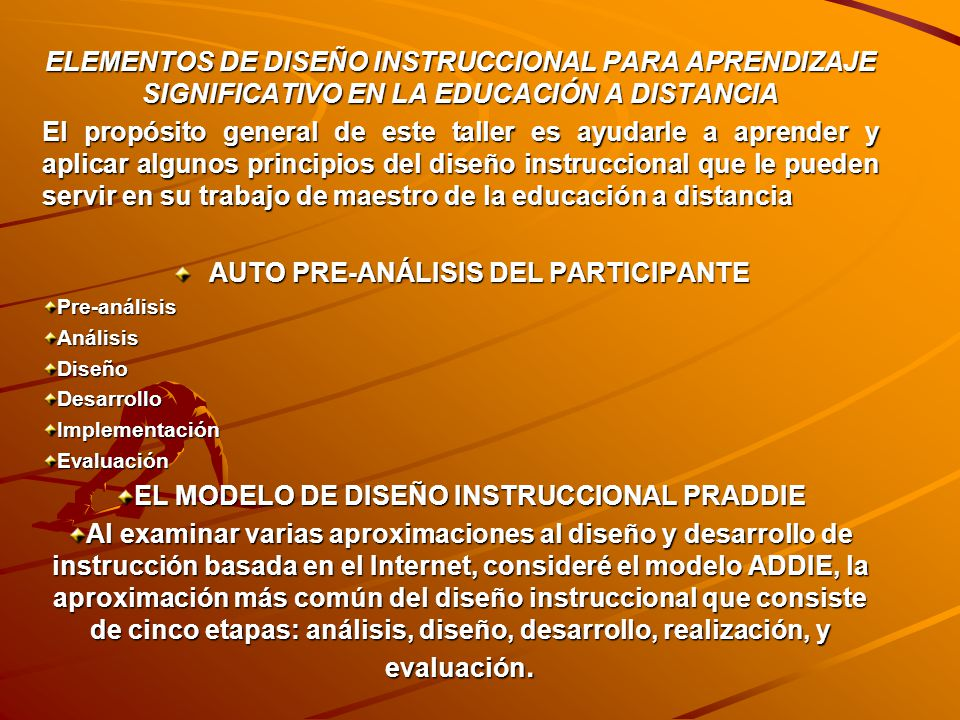 AUTO PRE-ANÁLISIS DEL PARTICIPANTE
