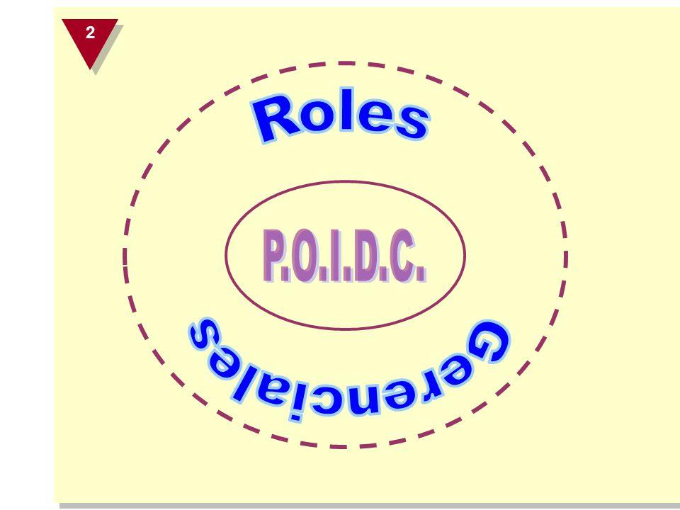 2 Roles P.O.I.D.C. Gerenciales