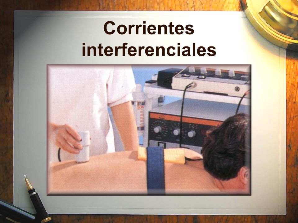 Corrientes interferenciales