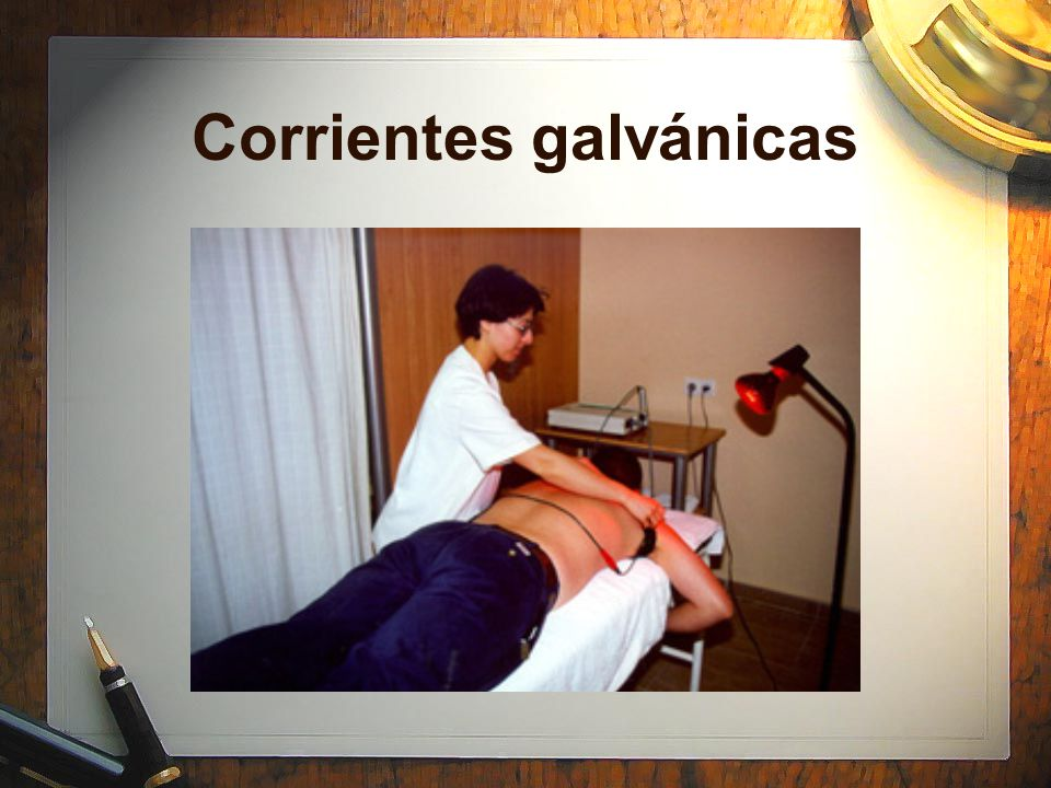 Corrientes galvánicas