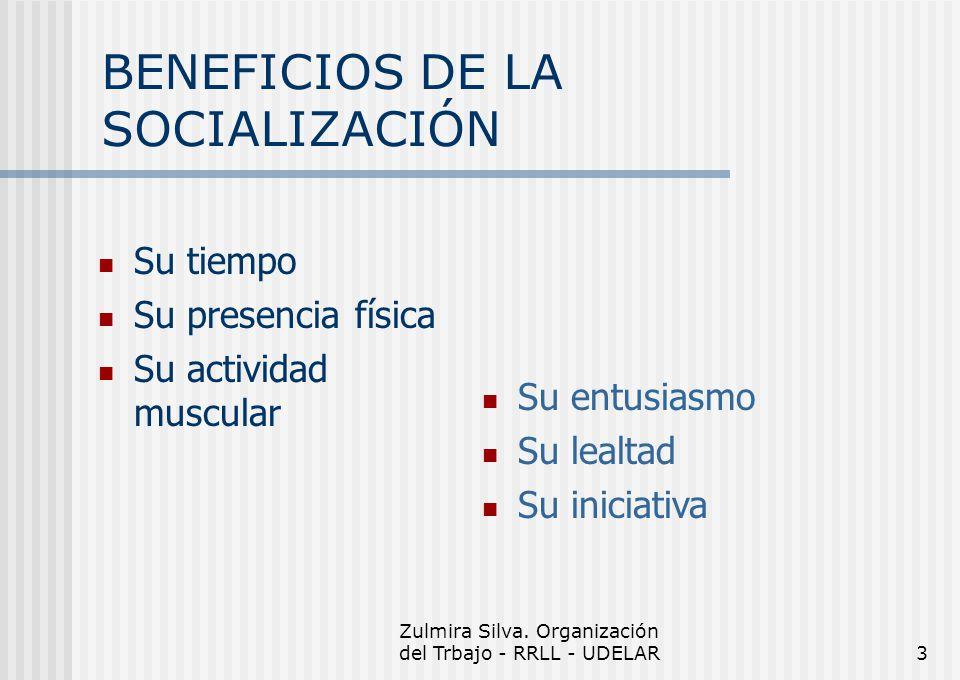 BENEFICIOS DE LA SOCIALIZACIÓN