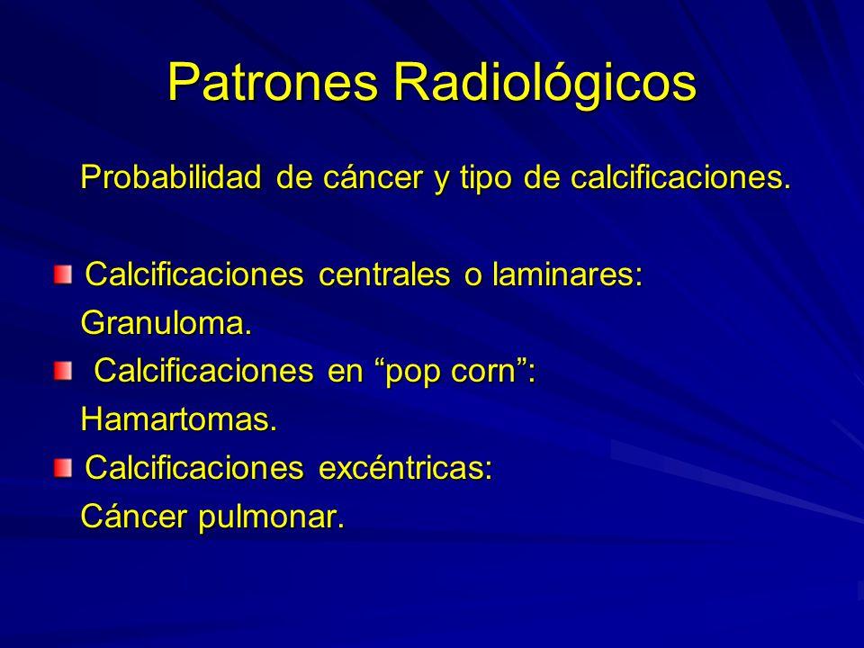 Patrones Radiológicos