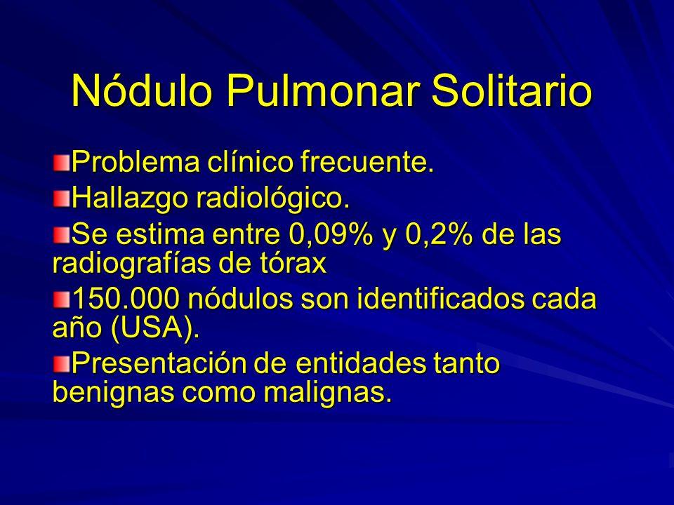 Nódulo Pulmonar Solitario