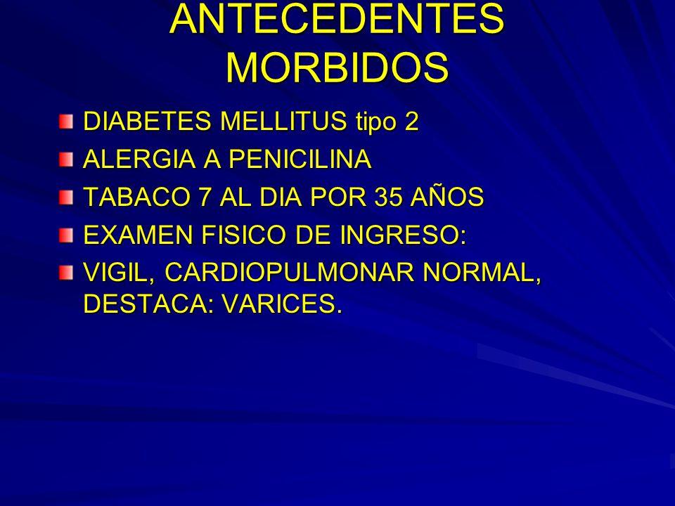 ANTECEDENTES MORBIDOS