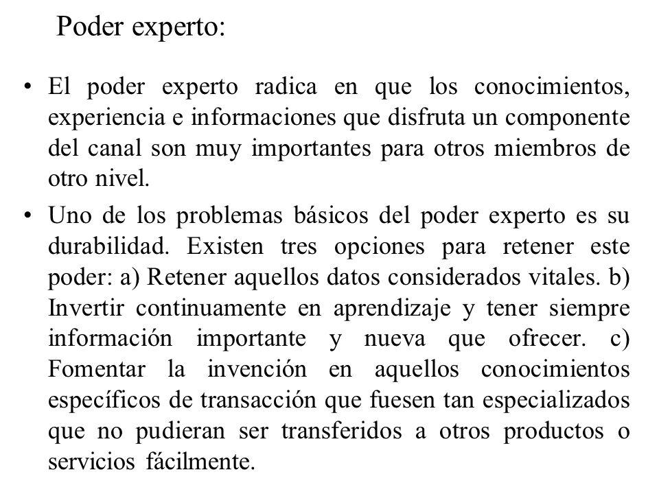 Poder experto: