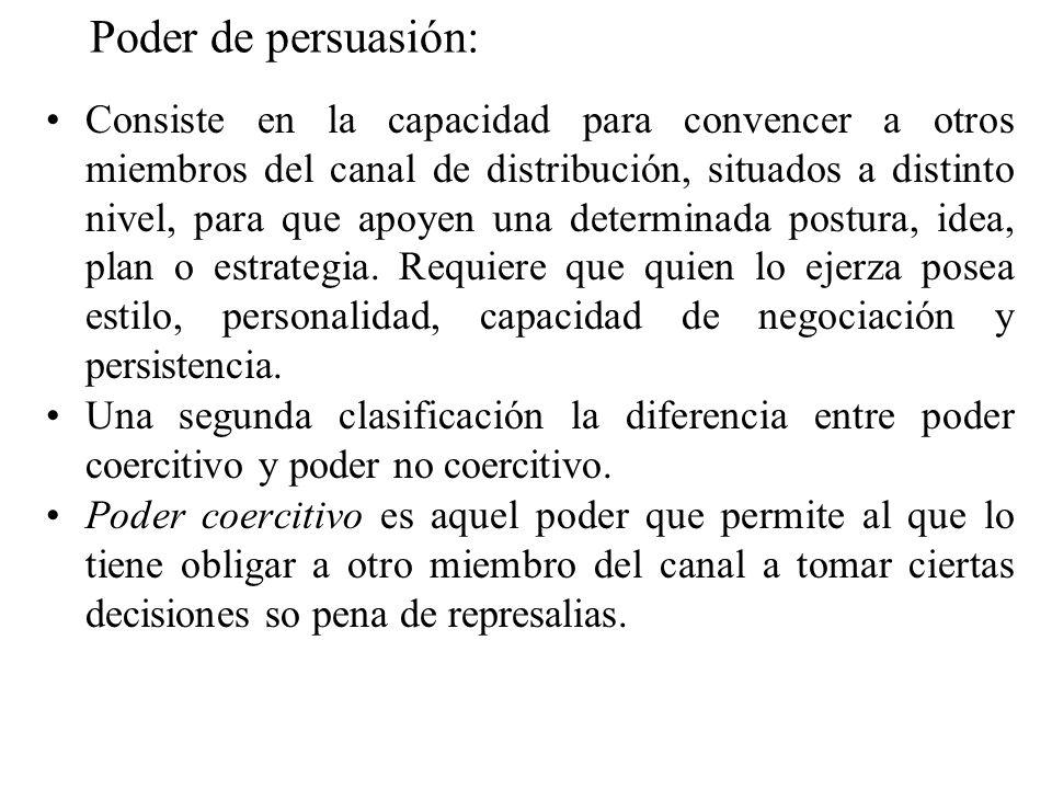 Poder de persuasión: