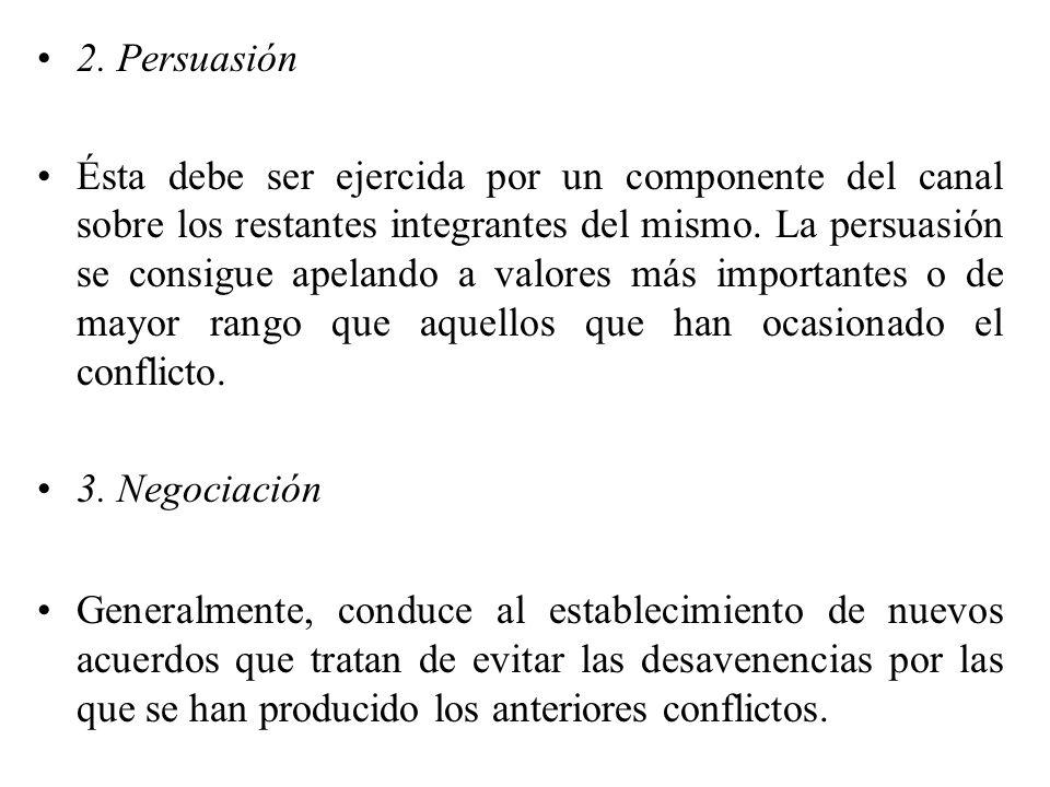 2. Persuasión