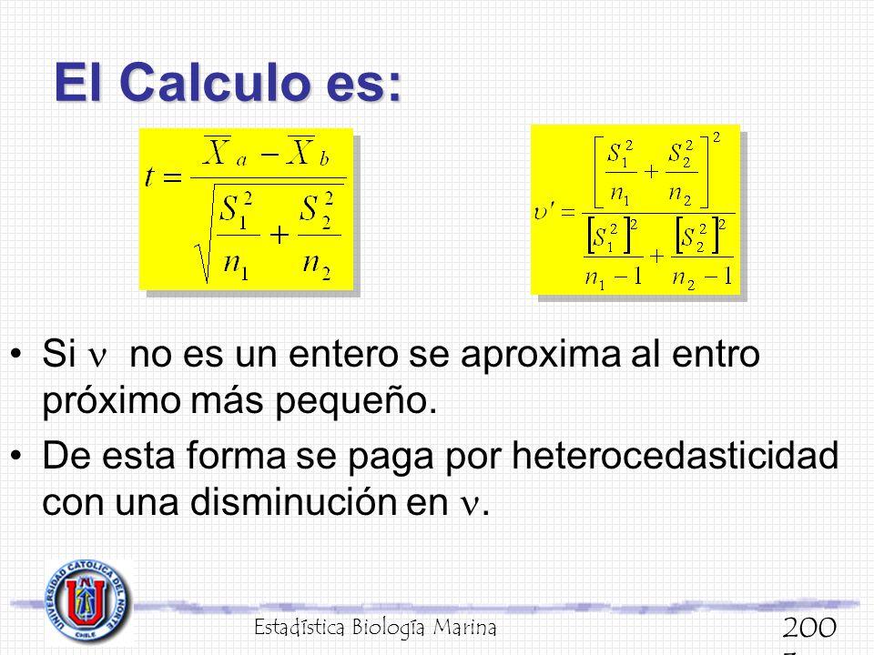 El Calculo es: Si  no es un entero se aproxima al entro próximo más pequeño.