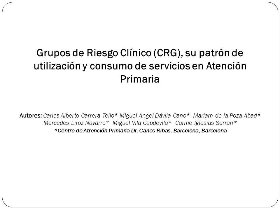 *Centro de Atrención Primaria Dr. Carles Ribas. Barcelona, Barcelona