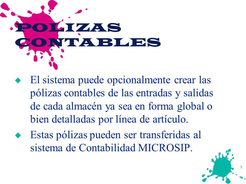 POLIZAS CONTABLES