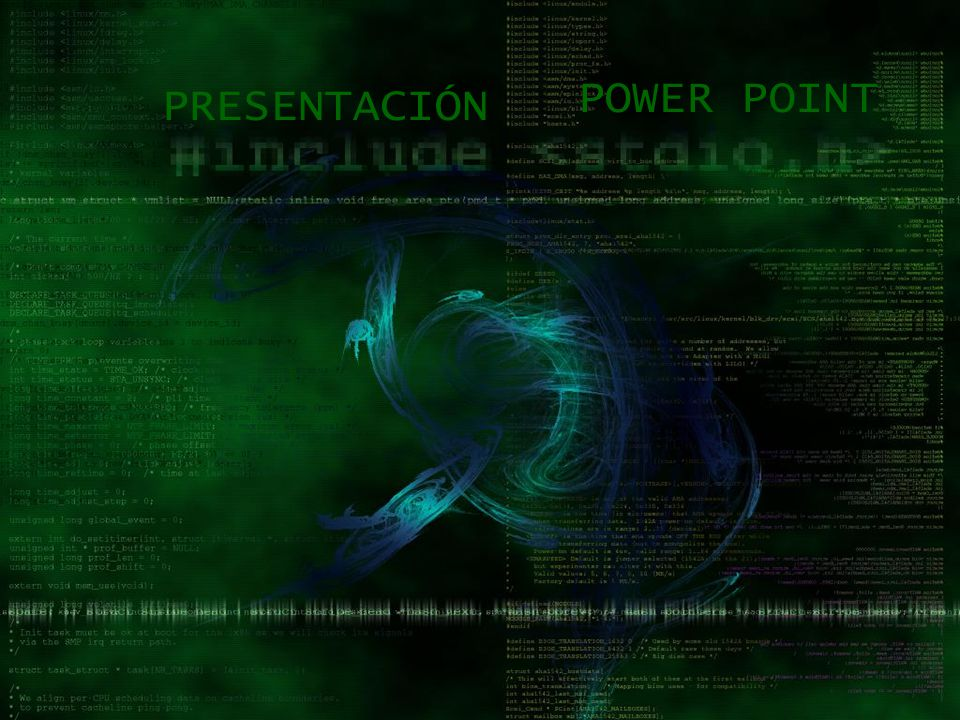 POWER POINT PRESENTACIÓN
