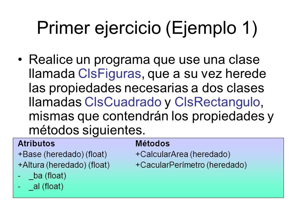 Primer ejercicio (Ejemplo 1)