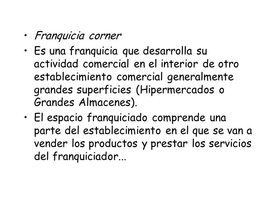 Franquicia corner