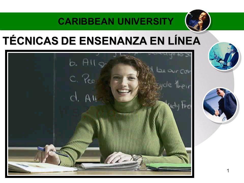 TÉCNICAS DE ENSENANZA EN LÍNEA