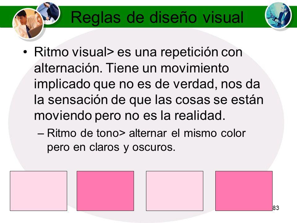 Reglas de diseño visual
