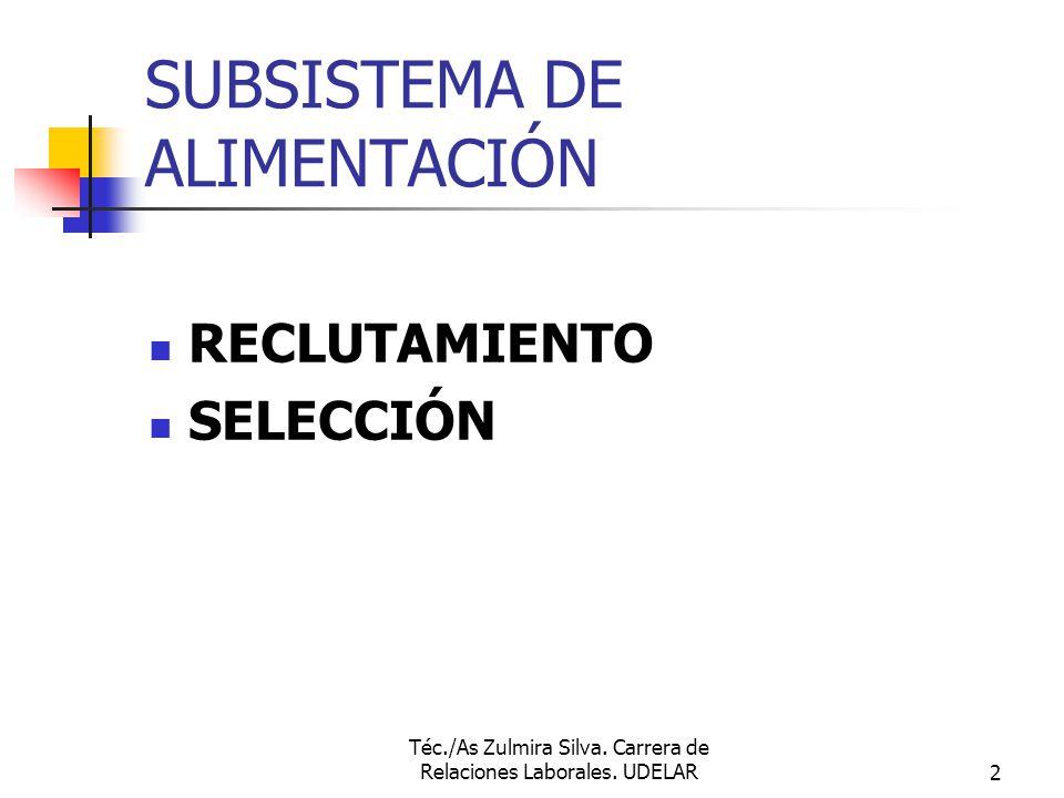 SUBSISTEMA DE ALIMENTACIÓN